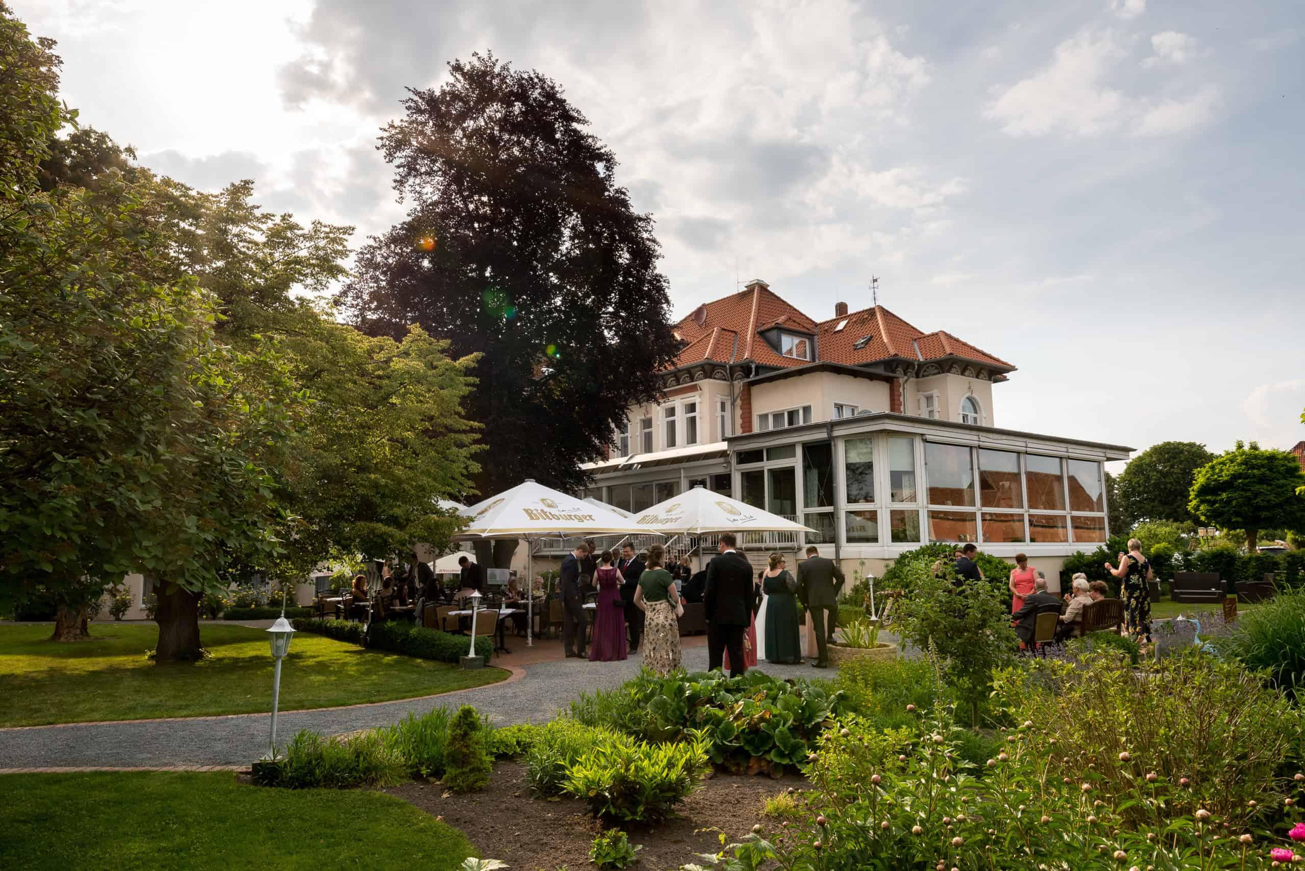 Hochzeit im Parkhotel Bilm in der Nähe von Hannover