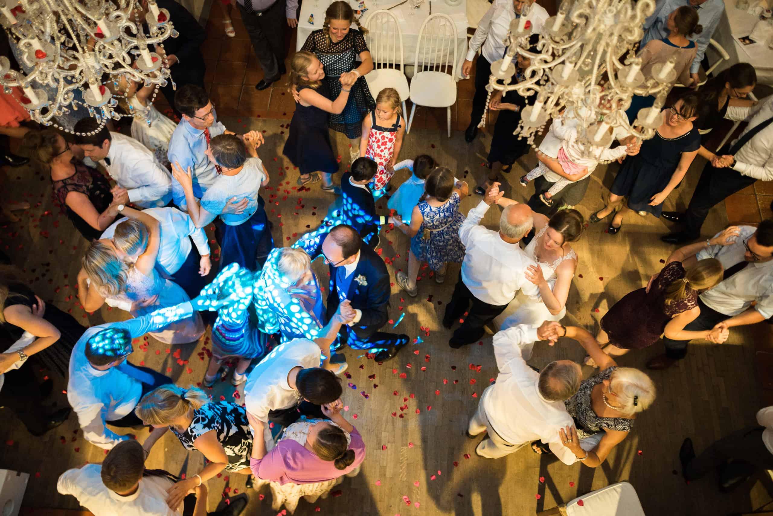 Tanz bei einer Hochzeitsfeier in einer Hochzeitslocation Hannover